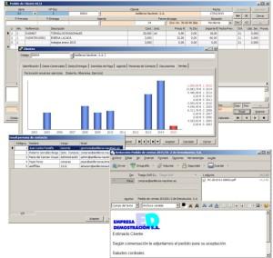 Trazabilidad de la Información y envío de Documentos por e-mail